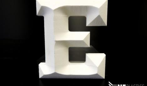 CNC Milled Foam PVC Letter