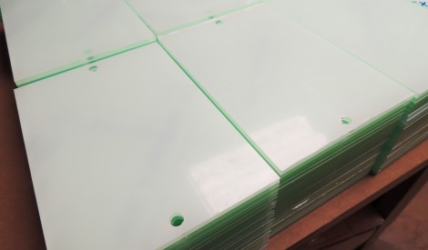 Drilled Plastic Panels
