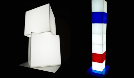 Illuminated Perspex Boxes