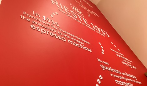 Laser Cut Acrylic Lettering (coffee shop) 2