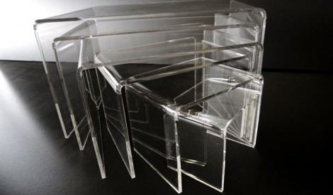 Perspex Acrylic Tables 1
