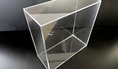 Clear Perspex Acrylic Six Sided Box