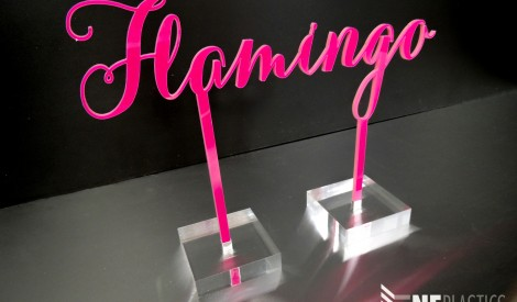 Perspex Table Place Names